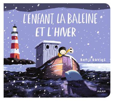 Couverture de «L'enfant, la baleine et l'hiver tout-carton»