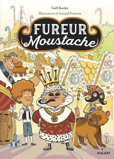 Couverture de «Fureur Moustache»