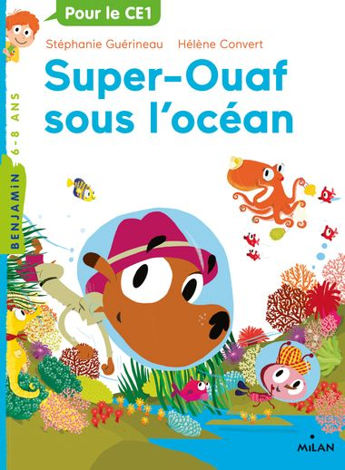 Couverture de «Super-Ouaf sous l'océan»