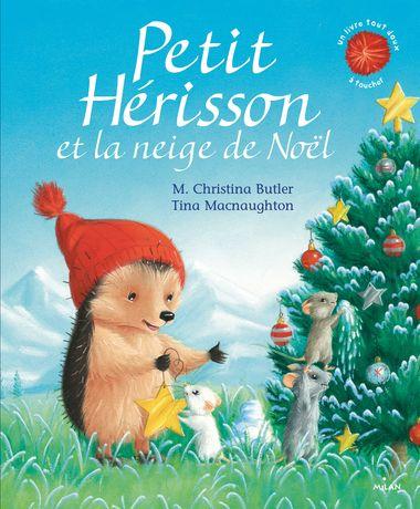 Couverture de «Petit Hérisson et la neige de Noël»