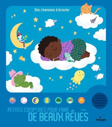 Couverture de «Petites comptines pour faire de beaux rêves»