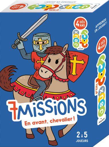 Couverture de «7missions – En avant, chevaliers!»
