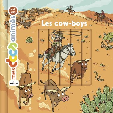 Couverture de « Les cow-boys »