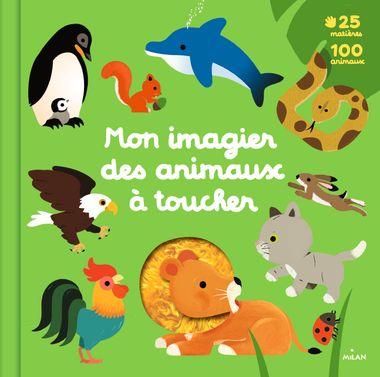 Couverture de «Mon grand imagier des animaux à toucher»
