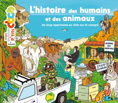 Couverture de «L'histoire des humains et des animaux»