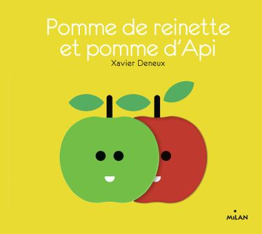 Couverture de «Pomme de reinette et pomme d'api»