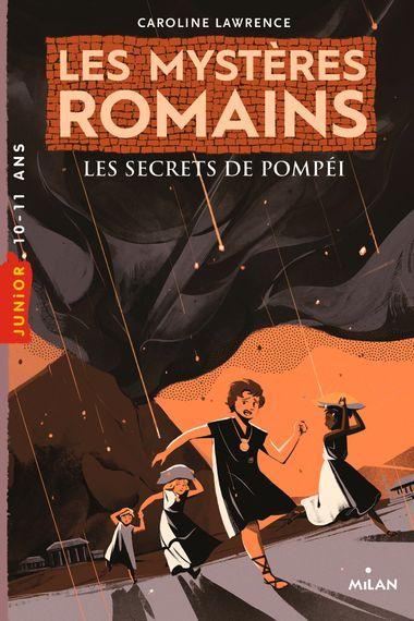 Couverture de «Les secrets de Pompéi»