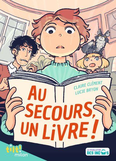 Couverture de «Au secours, un livre !»