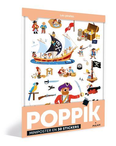 Couverture de «Les pirates – Poppik»