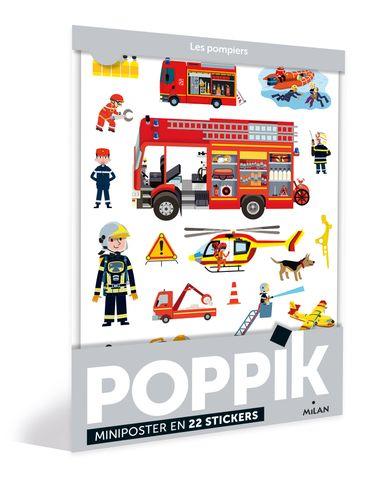 Couverture de «Les pompiers – Poppik»