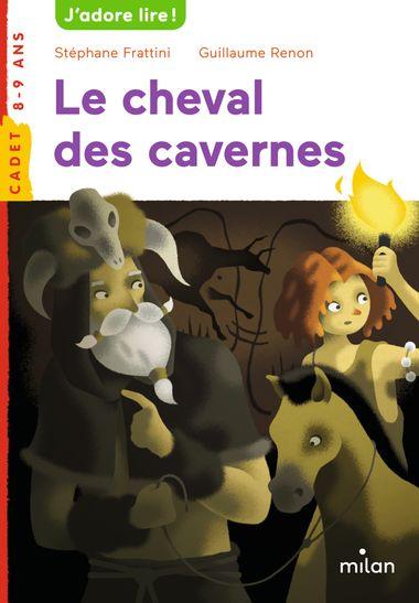 Couverture de «Le cheval des cavernes»