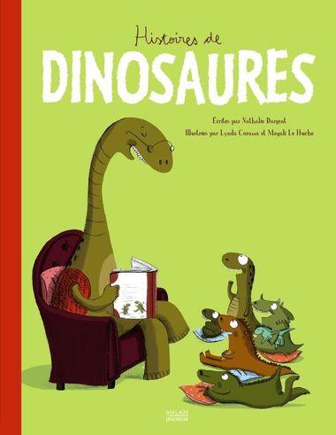 Couverture de «Histoires de dinosaures»