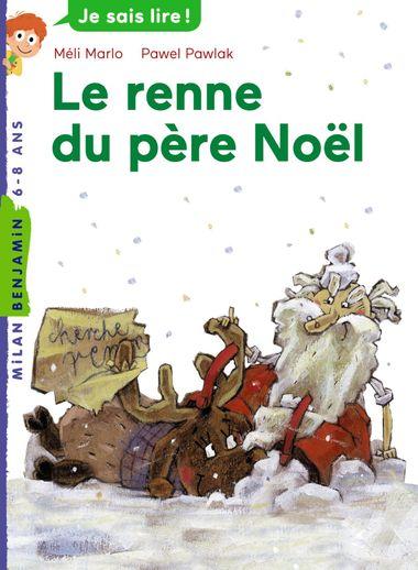 Couverture de «Les rennes du père Noël»