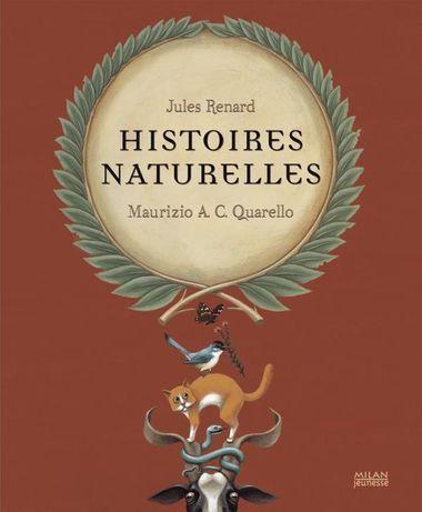 Couverture de «Histoires naturelles»