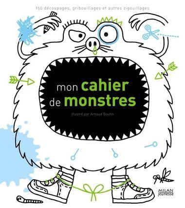 Couverture de «Mon cahier de monstres»