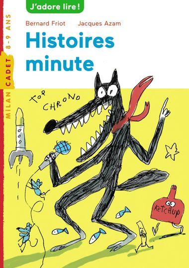 Couverture de «Histoires minute»