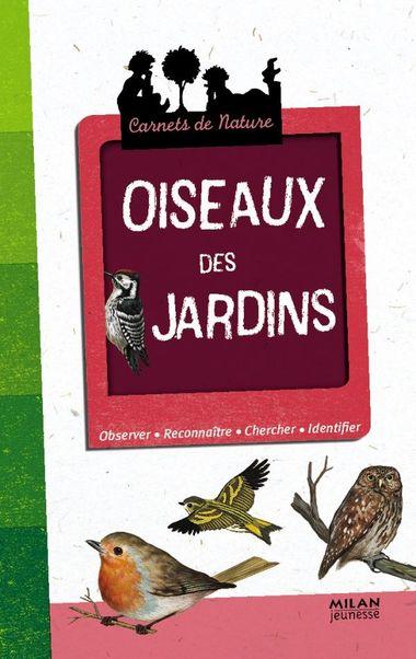 Couverture de «Oiseaux des jardins»