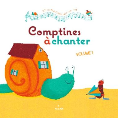 Couverture de « Comptines à chanter, vol. 1 + CD »