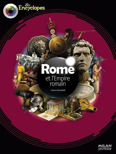 Couverture de «Rome et l'empire romain»