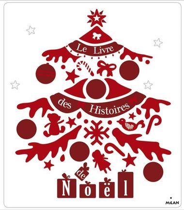 Couverture de «Le livre des histoires de Noël»
