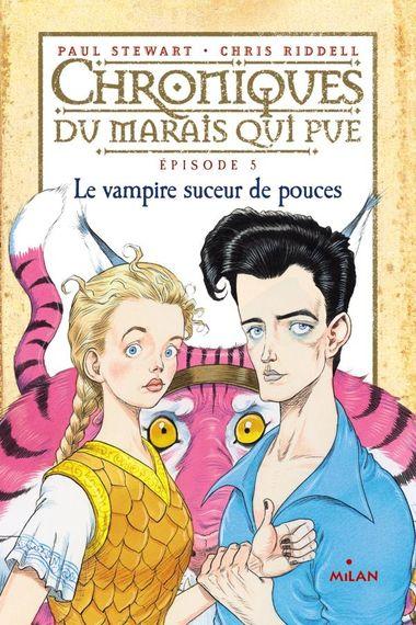 Couverture de «Le vampire suceur de pouces»