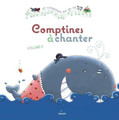 Couverture de « Comptines à chanter, vol. 2 + CD »