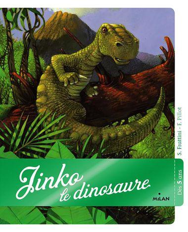 Couverture de «Jinko le dinosaure»