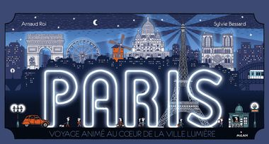 Couverture de «Paris , promenade animée au cœur de la plus belle ville du monde»