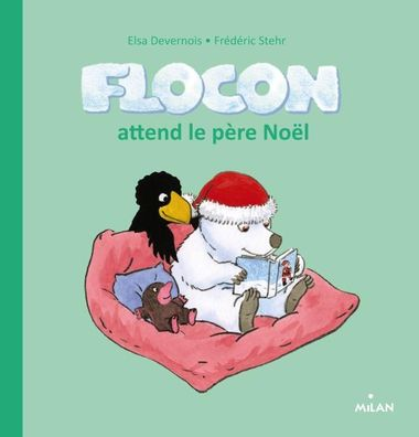 Couverture de « Flocon attend le père Noël »