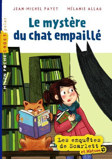 Couverture de «Le mystère du chat empaillé»