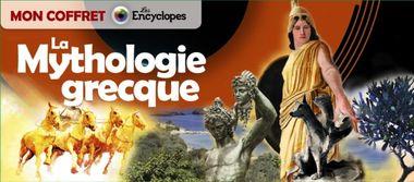 Couverture de «Mon coffret – La mythologie grecque»