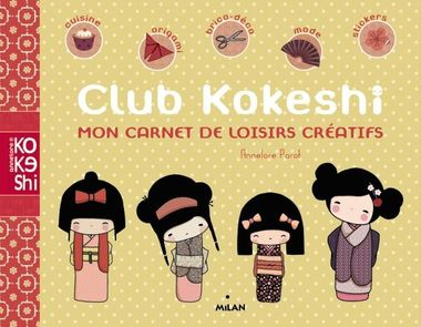 Couverture de «Club Kokeshi»