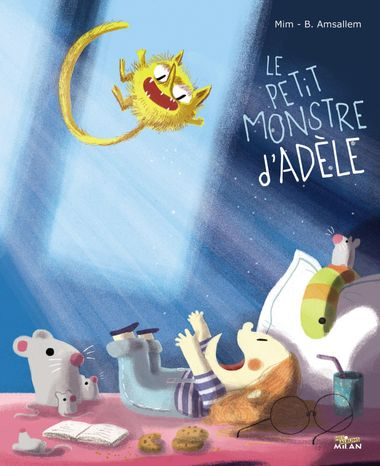 Couverture de «Le petit monstre d'Adèle»
