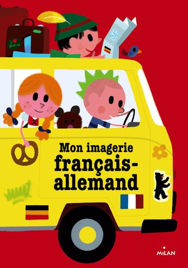 Couverture de «Mon imagerie français-allemand»