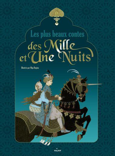 Couverture de «Les plus beaux contes des 1001 nuits»