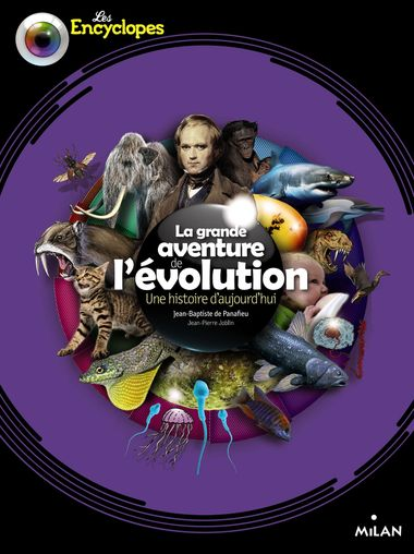Couverture de «La grande aventure de l'évolution»