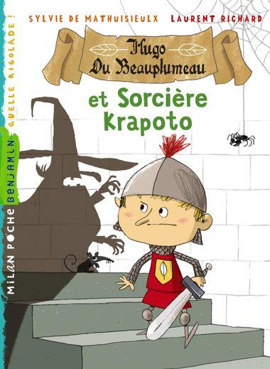 Couverture de «Hugo du Beauplumeau et la sorcière Krapoto»