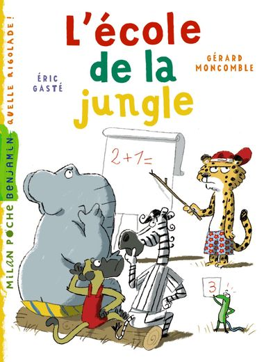 Couverture de « L'école de la jungle »