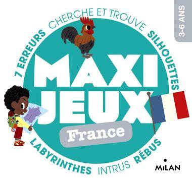 Couverture de «Maxi-jeux – France»