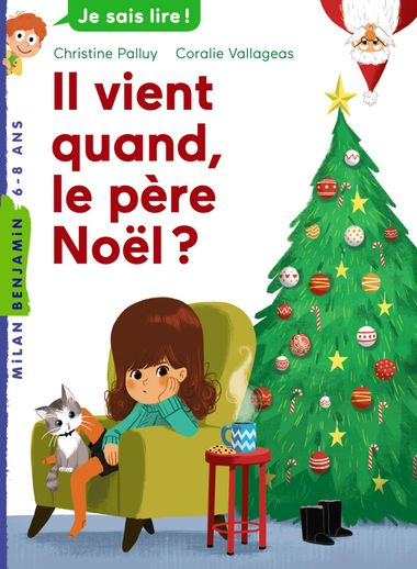 Couverture de «Il vient quand, le père Noël ?»