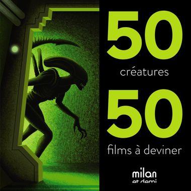 Couverture de «50 créatures, 50 films»