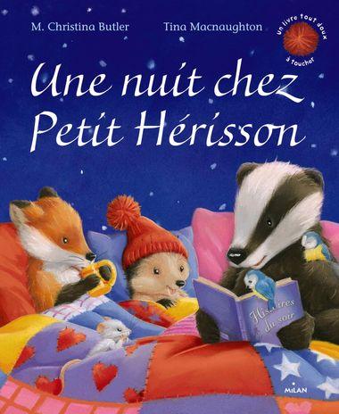 Couverture de «Une nuit chez Petit Hérisson»