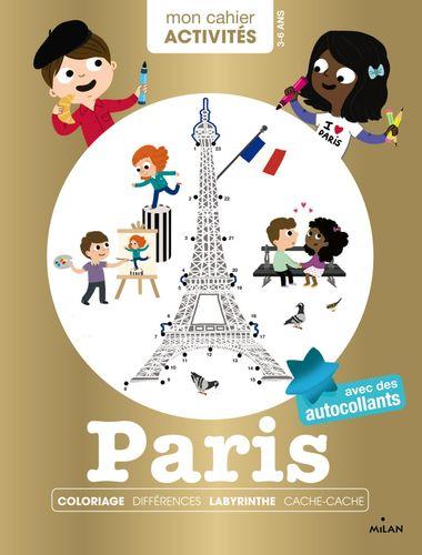 Couverture de «Mon cahier d'activités – Paris»