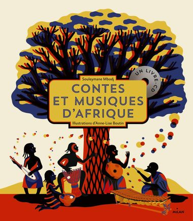 Couverture de «Contes et musiques d'Afrique»