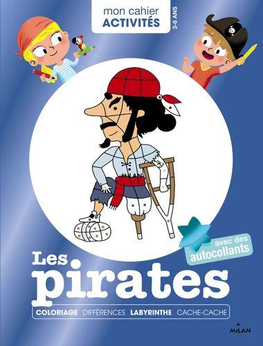 Couverture de «Mon cahier d'activités – Les pirates»