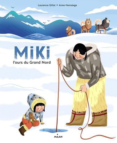 Couverture de «Miki, l'ours du Grand Nord»