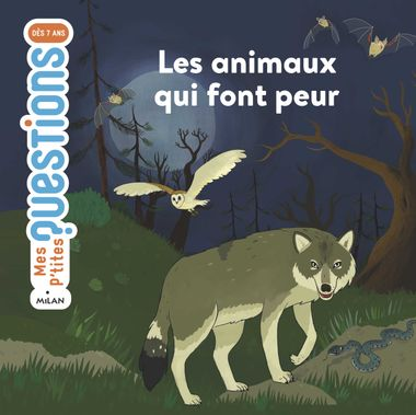 Couverture de «Les animaux qui font peur»