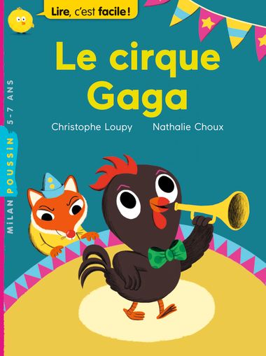 Couverture de «Le cirque Gaga»