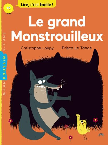 Couverture de «Le grand Monstrouilleux»