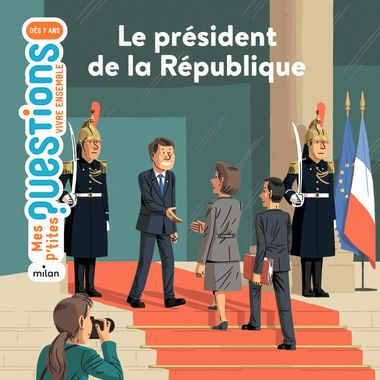 Couverture de «Le président de la République»